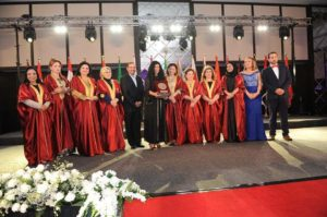 Awarded at the Arab Women's Council